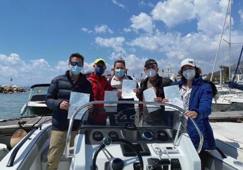 Título oficia licencia de navegacion en Málaga 1